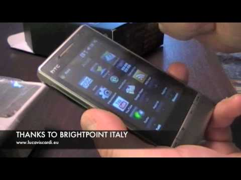 htc touch diamond 2: the unboxking