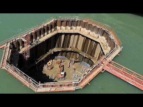 This is How Underwater Structure are Built