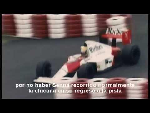 Senna Prost Suzuka 1989