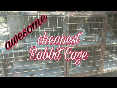 building-rabbit-cage-using-old-used-metals-and-iron-/-man-made-affordable