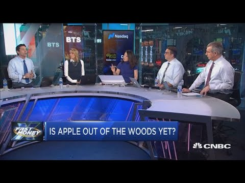 Tim Cook is Apple really out of the woods?