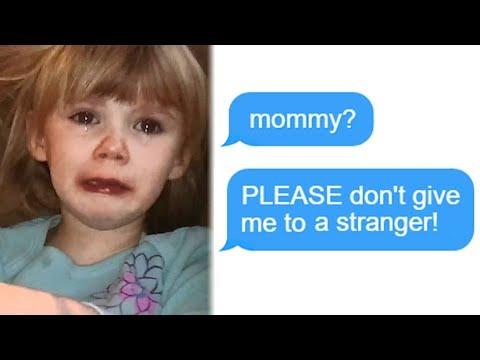 "r/Entitledparents ""Mommy? PLEASE Don't Give Me To A Stranger!"" Funny Reddit Posts"