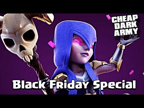 BEST Dark Elixir Army | Dark Troop Discounts | Clash Of Clans