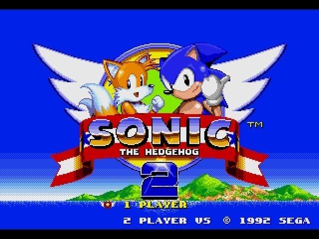 Sonic The Hedgehog 2 Mega Drive Genesis Longplay Youtube