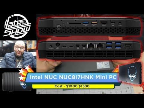 Intel NUC 8 VR NUC8I7HVK Gaming Mini PC