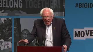 Senator Bernie Sanders at MoveOn's Big Ideas Forum