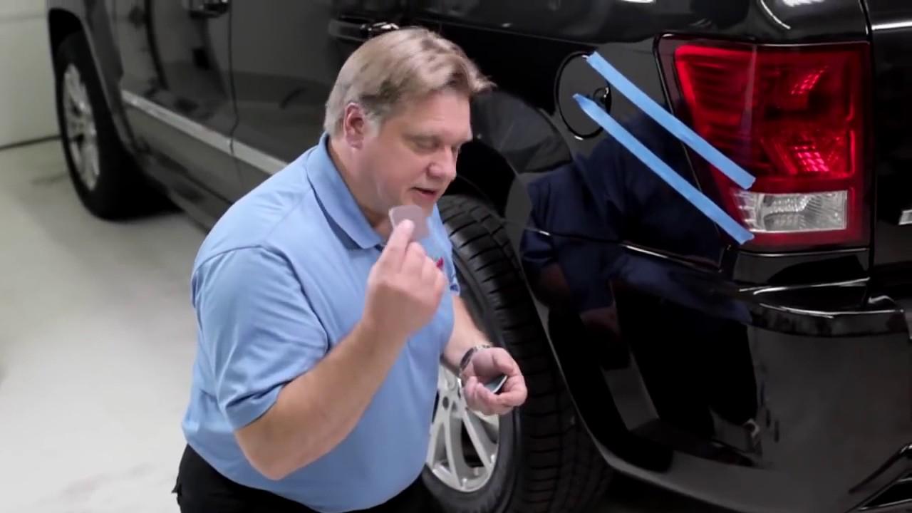 reparation af ridser i bil