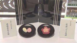 道後「飛鳥乃湯泉」で提供、茶菓子2種発表・愛媛新聞 泉明日香 検索動画 16