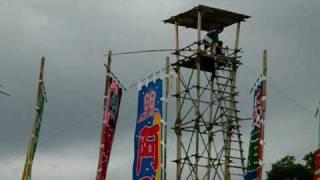 大相撲・名古屋場所2009 櫓太鼓