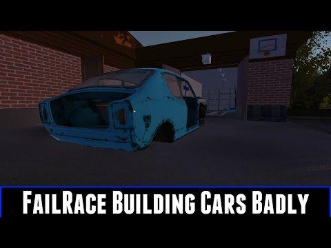failrace building cars badly my summer car