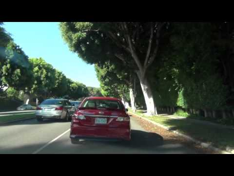 Driving in Beverly Hills California!