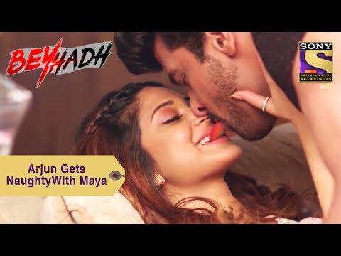 Your Favorite Character | Arjun Gets Naughty With Maya | Beyhadh thumbnail