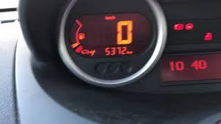 Remise à zéro voyant vidange Renault twingo 2 oil service reset RMZ