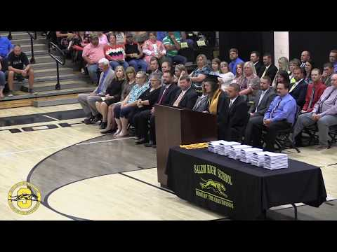 Salem High School Graduation 2018