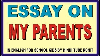 relationship with parents essay