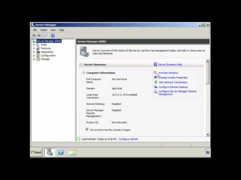 DNS Server for Windows Server 2008