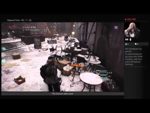 Tom Clansy's The Division. Dark zone group manhunt