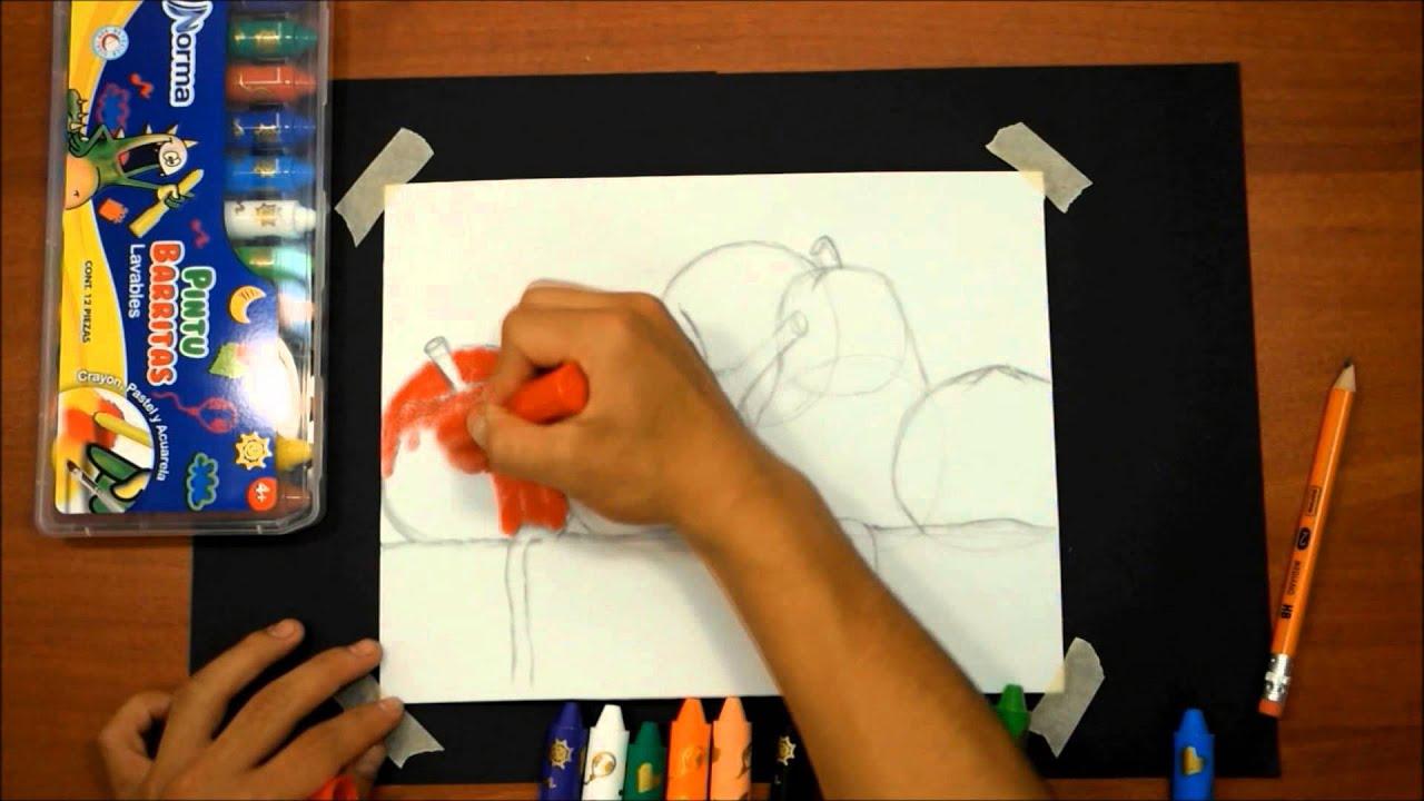 T cnica para pintar un bodeg n con pintubarritas norma - Pintar paredes con dibujos ...