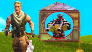 AMBUSHING PLAYERS WITH THE MOUNTED TURRET In Fortnite Battle Royale