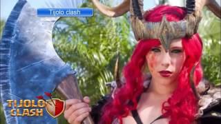 Cosplay Valquiria Sexy (Clash Of clans)