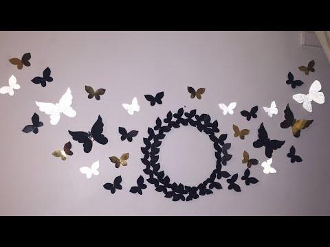 DIY - butterfly wall decor