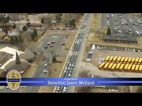 Honoring Detective Jason Weiland