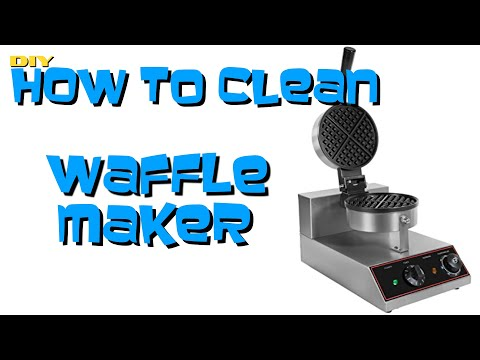 How to Clean Waffle Maker