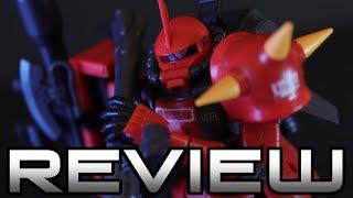 RG Johnny Riddens Zaku II Review - MOBILE SUIT GUNDAM - ジョニー・ライデン専用ザクII