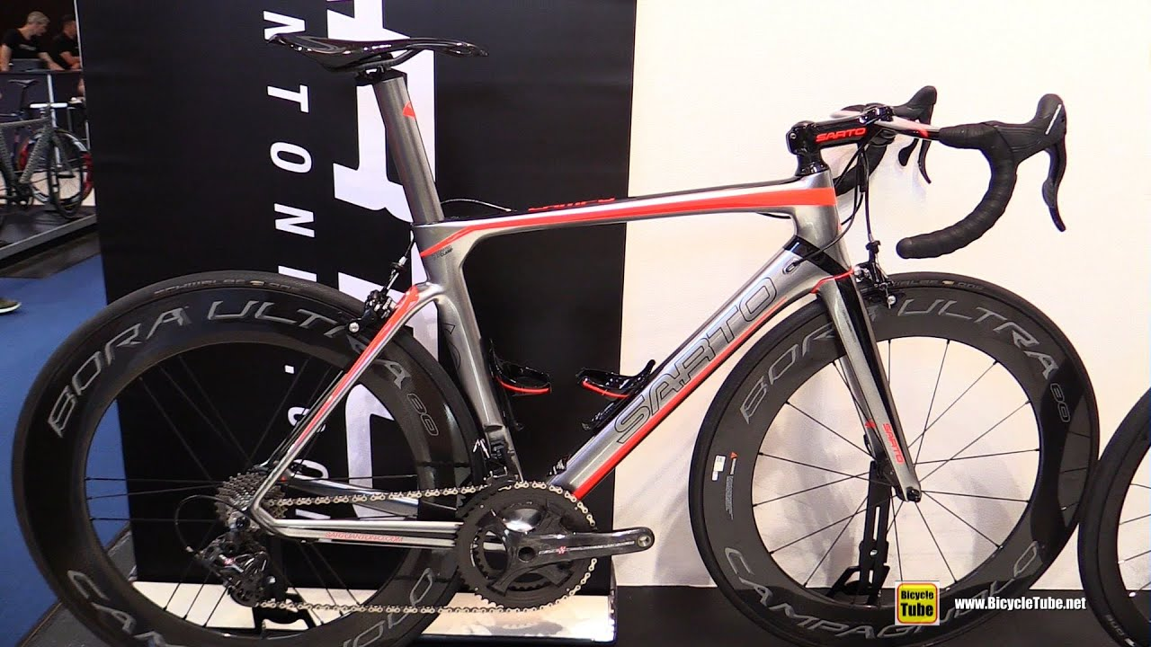 2016 Sarto Lampo Road Bike Walkaround 2015 Eurobike
