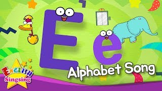 Alphabet Song - Alphabet 'E' Song - English song for Kids