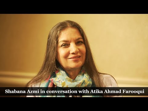 Shabana Azmi talks to Atika A Farooqui on things women need to do in life