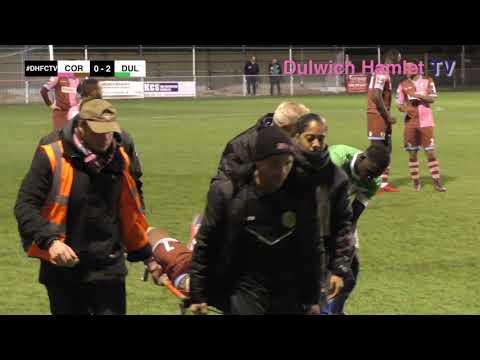 Corinthian-Casuals 1-3 Dulwich Hamlet, London Senior Cup Second Round, 05/12/17 | Match Highlights