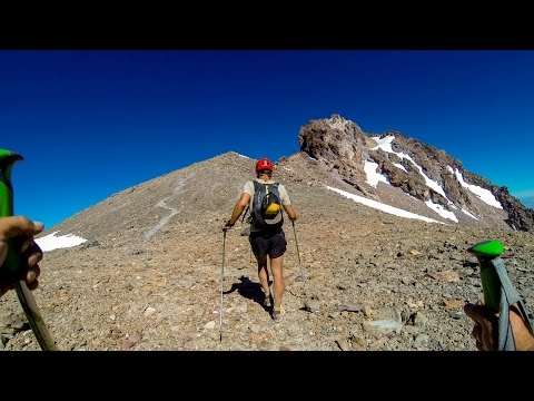 Up Mt Shasta TIME LAPSE (ascending nearly 8,000 feet in 6 miles)