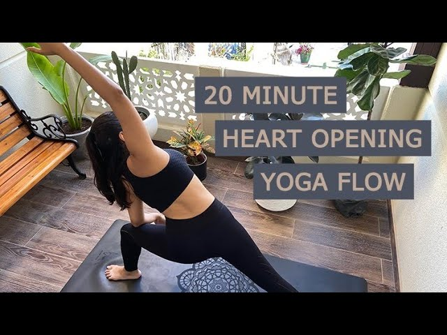 VIDEO: 20-Min Heart Opening Yoga Flow