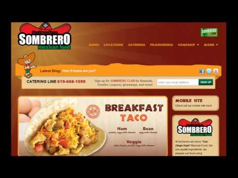 Close Up on San Diego Business Features Sombrero Mexican Food