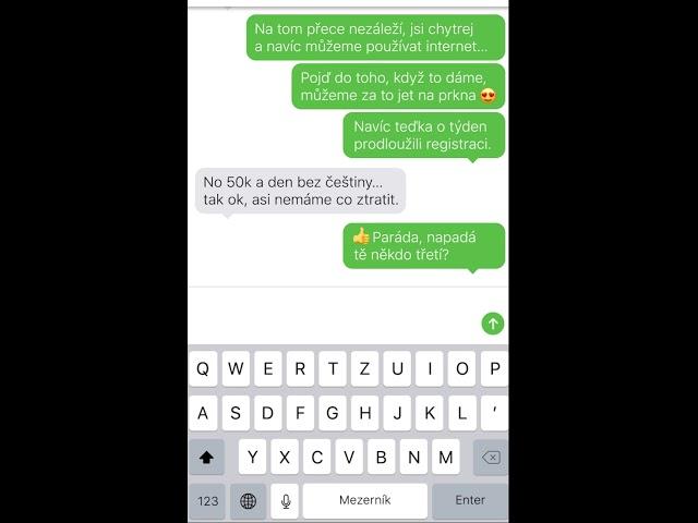 Energetická olympiáda - SMS