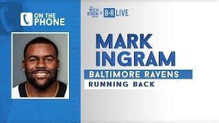 Ravens RB Mark Ingram Talks Lamar Jackson & More with Rich Eisen | Full Interview | 9/11/19