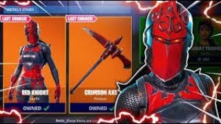 *NEW* FORTNITE RED KNIGHT/CRITERION SKIN (BEFORE YOU BUY)