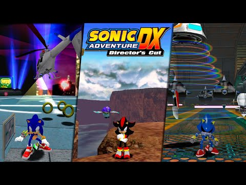 Sonic Adventure DX (PC) - Sonic, Shadow And Metal Sonic Mod, Gameplay Overhaul - Showcase