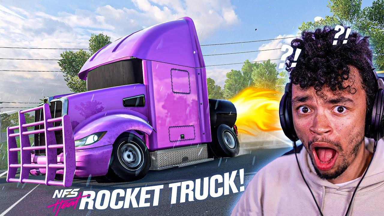 ROCKET TRUCK in Need for Speed HEAT???