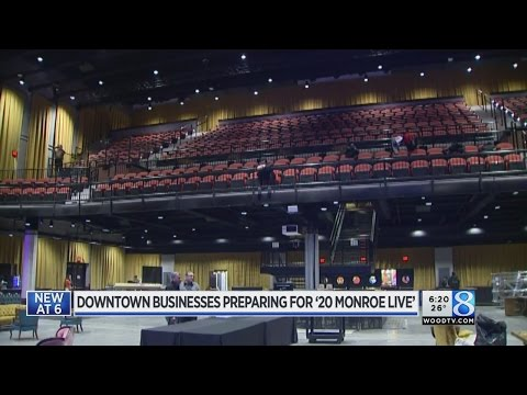 Downtown businesses hope to benefit from 20 Monroe Live