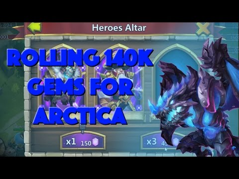Castle Clash: Rolling 140K Gems And Events For Arctica | Part 1 Of 2