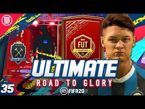 THE BEAST!!! ELITE 2 FUT CHAMPS REWARDS!!! ULTIMATE RTG #35 - FIFA 20 Ultimate Team Road to Glory