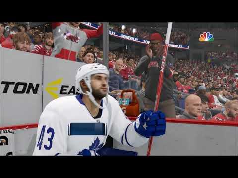 NHL 18 Toronto Maple Leafs vs Washington Capitals Stadium Series