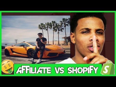 Shopify V.S Affiliate Marketing (The Truth)