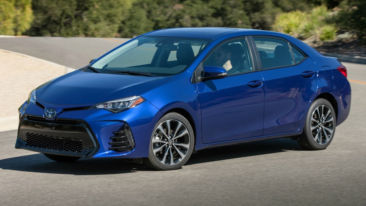 2017 Toyota Corolla Se Awesome Drive Interior And