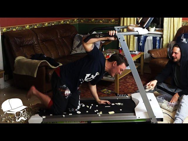 Treadmill Challenge - LEGO!