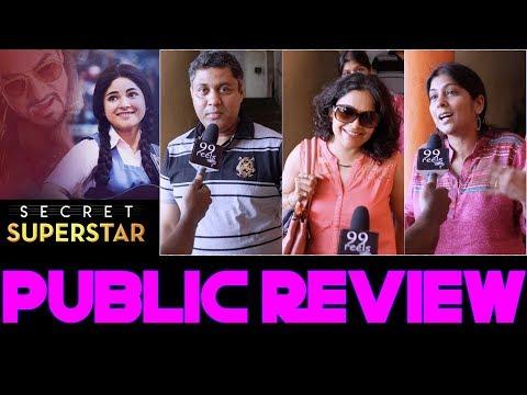 Secret Superstar Public Review | First Day First Show | Public Response | Amir Khan, Zaira Wasim