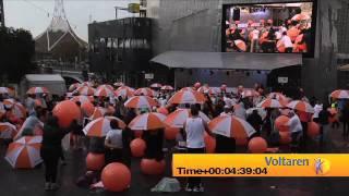 Novartis Voltaren Record Attempt - Pain Management Week 2011
