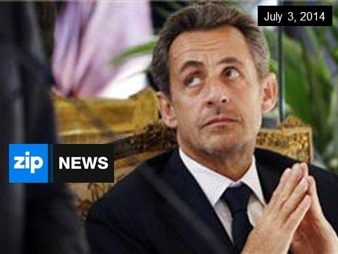 Sarkozy Arrested For Corruption - July 3, 2014